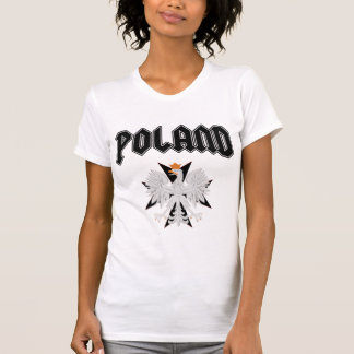 Poland Eagle Black Cross t shirt