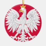 Poland Eagle Christmas Ornament