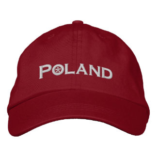 Poland Embroidered Hat