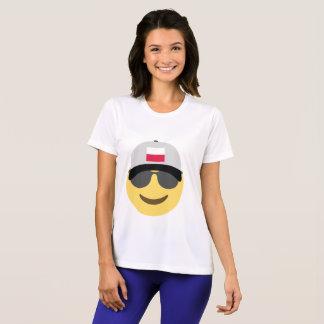 Poland Emoji Baseball Hat T-Shirt