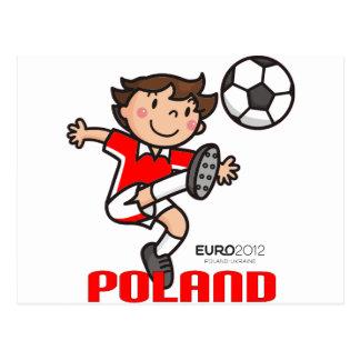Poland - Euro 2012 Post Card