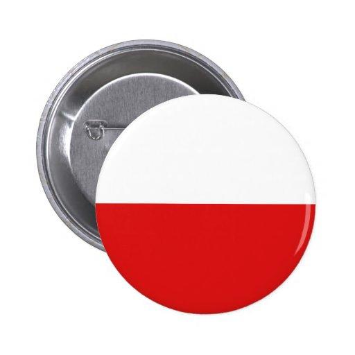 Poland Fisheye Flag Button