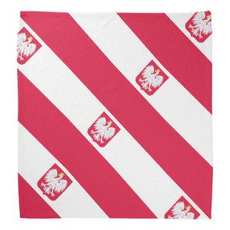 Poland flag bandanna