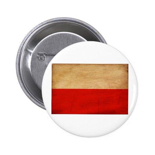 Poland Flag Buttons
