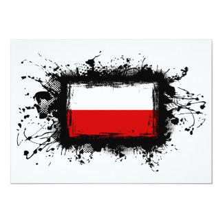 Poland Flag Card
