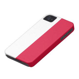 Poland Flag iPhone 4 Case-Mate Cases