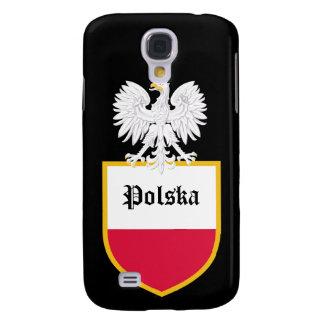 Poland Flag Galaxy S4 Case