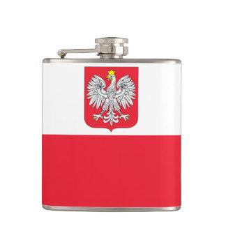 Poland Flag Hip Flask