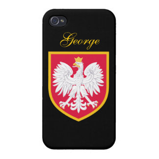 Poland Flag iPhone 4/4S Cases