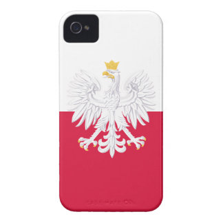 Poland Flag iPhone 4 Cover