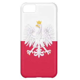Poland Flag iPhone 5C Case