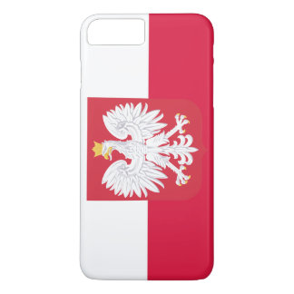Poland Flag iPhone 7 Plus Case