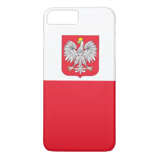 Poland Flag iPhone 7 Plus Case