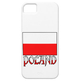 Poland Flag & Name iPhone 5 Covers