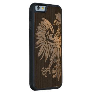 Poland Flag Polish Eagle Carved Cherry iPhone 6 Bumper Case