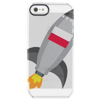 Poland Flag Rocket Clear iPhone SE/5/5s Case