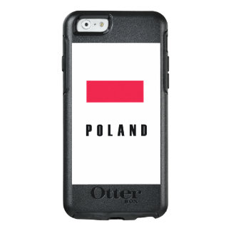Poland Flag Simple Dark OtterBox iPhone 6/6s Case