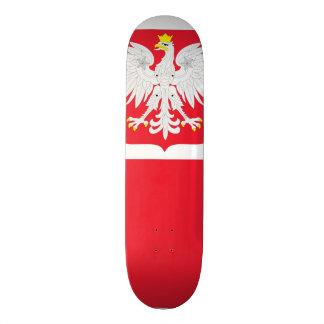 Poland Flag Skate Decks