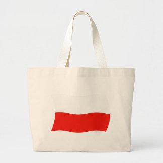 Poland Flag Tote Bag