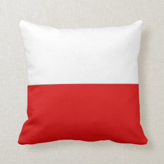 Poland Flag x Flag Pillow
