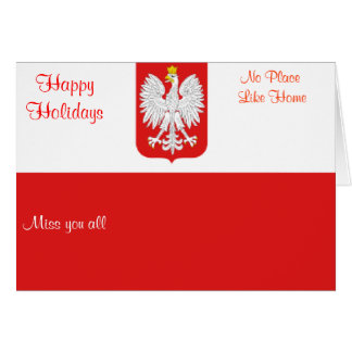 poland holiday greeting cards