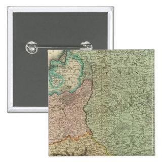 Poland, Lithuania 2 15 Cm Square Badge