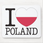 Poland Love v2 Mouse Pad