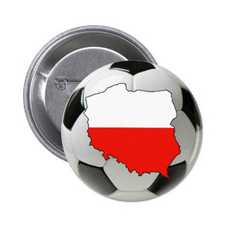 Poland national team 6 cm round badge