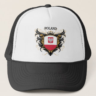 Poland [personalize] trucker hat