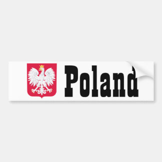 Poland Polish coat of arms Bumper Sticker