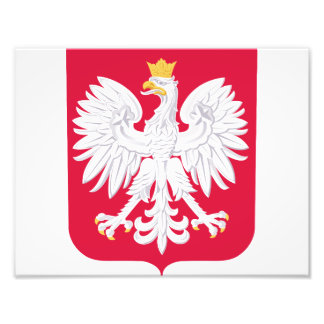Poland Polish coat of arms Photo Print