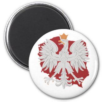 Poland Polish Eagle Refrigerator Magnets