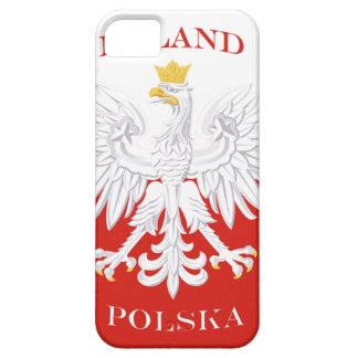 Poland Polish Flag iPhone 5 Case-Mate ID™ Case For The iPhone 5