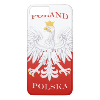 Poland Polish Flag iPhone 7 Plus Case