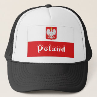 Poland polish flag souvenir hat