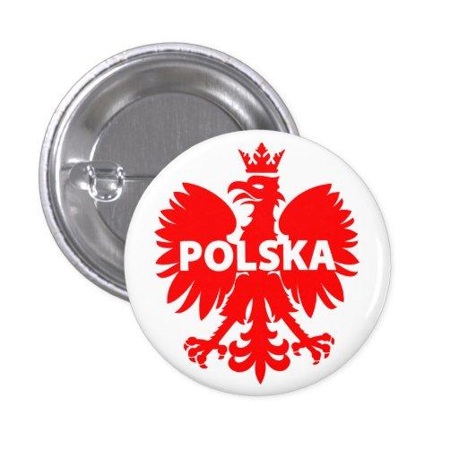 "Poland ""Polska"" Button"