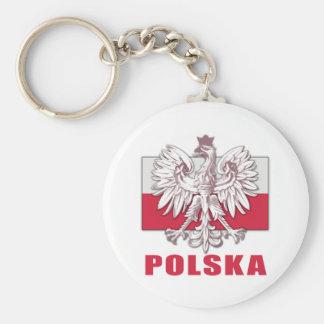 Poland Polska Coat of Arms Key Ring