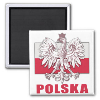 Poland Polska Coat of Arms Fridge Magnets