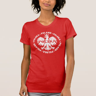 Poland Polska Crowned Eagle Symbol T-Shirt