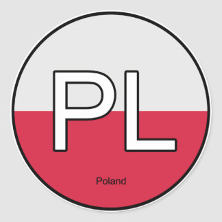 Poland Polska Euro Sticker