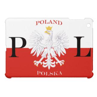 Poland Polska Flag with White Eagle iPad Mini Case