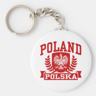 Poland Polska Key Ring