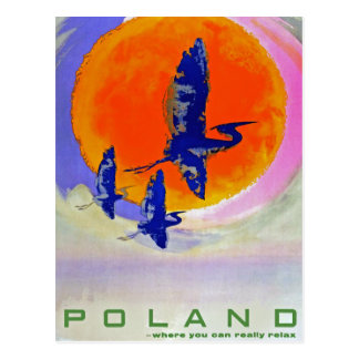 Poland Post Card