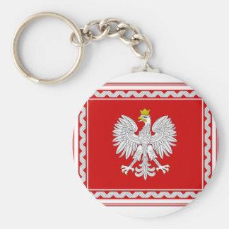 Poland President Flag Key Chain