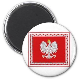 Poland President Flag Magnet
