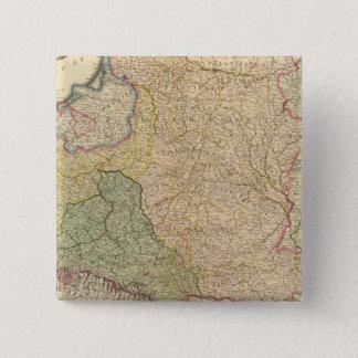 Poland, Prussia 2 15 Cm Square Badge
