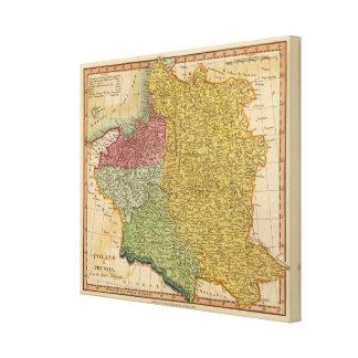 Poland, Prussia 2 Canvas Print