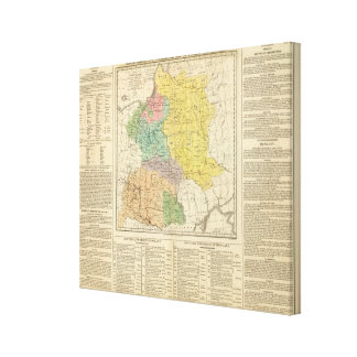 Poland, Prussia, and Hungary Canvas Print