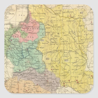 Poland, Prussia, and Hungary Square Sticker