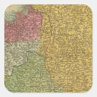 Poland, Prussia Square Sticker